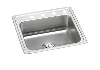"Image for Elkay Lustertone Classic Stainless Steel 22"" x 19-1/2"" x 10-1/8"", Single Bowl Top Mount Sink with Perfect Drain from ELKAY"