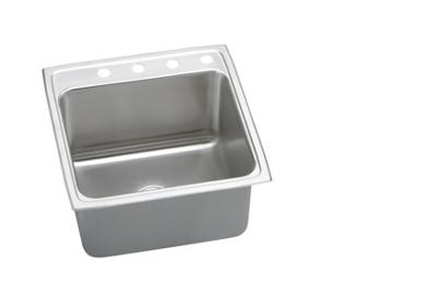 "Image for Elkay Gourmet Stainless Steel 22"" x 22"" x 10-1/8"", Single Bowl Top Mount Sink from ELKAY"