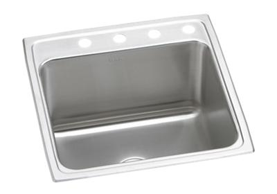 "Image for Elkay Lustertone Stainless Steel 22"" x 22"" x 12-1/8"", Single Bowl Top Mount Sink from ELKAY"