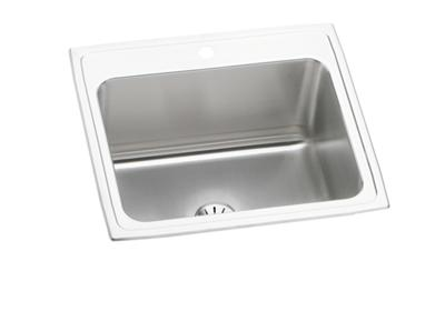 "Image for Elkay Lustertone Classic Stainless Steel 25"" x 22"" x 10-3/8"", Single Bowl Drop-in Sink with Perfect Drain from ELKAY"