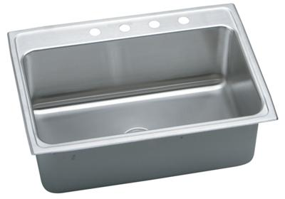 "Image for Elkay Gourmet Stainless Steel 31"" x 22"" x 10-1/8"", Single Bowl Top Mount Sink from ELKAY"