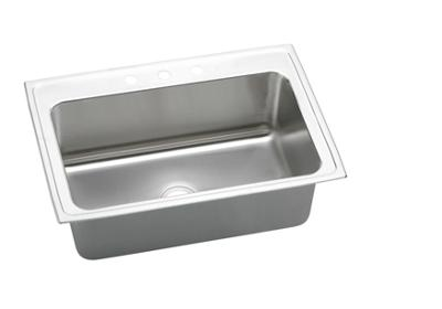 "Image for Elkay Gourmet Stainless Steel 33"" x 22"" x 11-5/8"", Single Bowl Top Mount Sink from ELKAY"