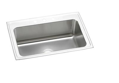 "Image for Elkay Lustertone Stainless Steel 33"" x 22"" x 11-5/8"", Single Bowl Top Mount Sink from ELKAY"