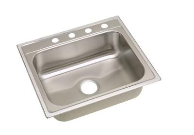"Image for Dayton Stainless Steel 25"" x 22"" x 8-1/4"", Single Bowl Top Mount Sink from ELKAY"