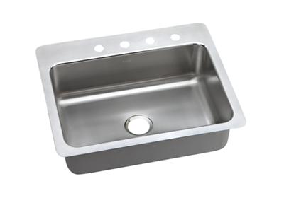 "Image for Dayton Stainless Steel 27"" x 22"" x 8"", Single Bowl Dual Mount Sink from ELKAY"