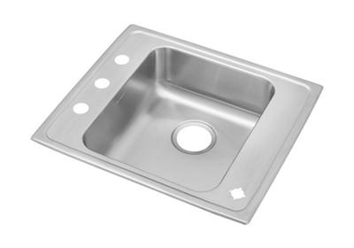"Image for Elkay Lustertone Stainless Steel 22"" x 19-1/2"" x 5-1/2"", Single Bowl Top Mount Classroom Sink from ELKAY"