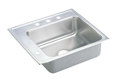"Image for Elkay Lustertone Stainless Steel 22"" x 19-1/2"" x 5"", Single Bowl Top Mount Classroom Sink from ELKAY"