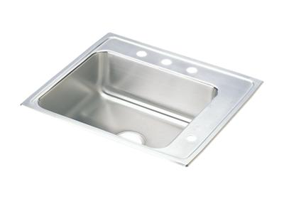 "Image for Elkay Lustertone Classic Stainless Steel 25"" x 22"" x 6-1/2"", Single Bowl Top Mount Classroom ADA Sink from ELKAY"