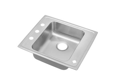 "Image for Elkay Lustertone Stainless Steel 22"" x 19-1/2"" x 5"", Single Bowl Top Mount Classroom ADA Sink from ELKAY"