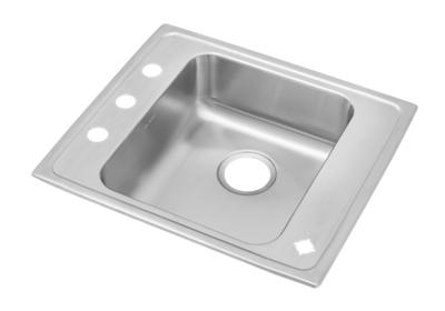 "Image for Elkay Lustertone Classic Stainless Steel 22"" x 19-1/2"" x 6-1/2"", Single Bowl Drop-in Classroom ADA Sink from ELKAY"
