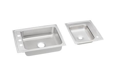"Image for Elkay Lustertone Stainless Steel 41"" x 19-1/2"" x 4-1/8"", Double Bowl Top Mount Classroom ADA Sink from ELKAY"
