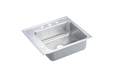 "Image for Elkay Lustertone Stainless Steel 25"" x 22"" x 6-1/2"", Single Bowl Top Mount Classroom Sink from ELKAY"
