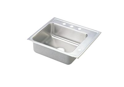 "Image for Elkay Lustertone Stainless Steel 25"" x 22"" x 6"", Single Bowl Top Mount Classroom Sink from ELKAY"