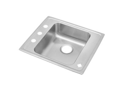 "Image for Elkay Lustertone Stainless Steel 25"" x 22"" x 5-1/2"", Single Bowl Top Mount Classroom ADA Sink from ELKAY"