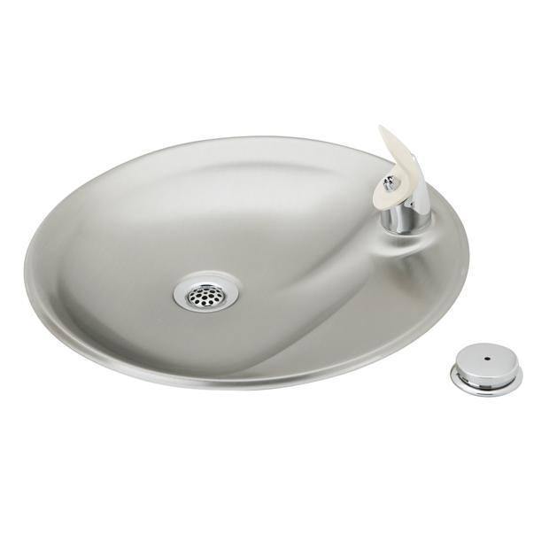 elkay countertop fountain non filtered non refrigerated stainless - Elkay Drinking Fountain