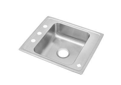 "Image for Elkay Lustertone Classic Stainless Steel 22"" x 19-1/2"" x 7-1/2"", Single Bowl Top Mount Classroom Sink from ELKAY"