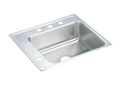 "Image for Elkay Lustertone Classic Stainless Steel 25"" x 22"" x 7-5/8"", Single Bowl Drop-in Classroom Sink from ELKAY"