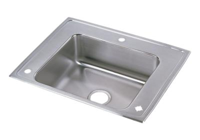"Image for Elkay Lustertone Classic Stainless Steel 28"" x 22"" x 5"", Single Bowl Top Mount Classroom ADA Sink from ELKAY"
