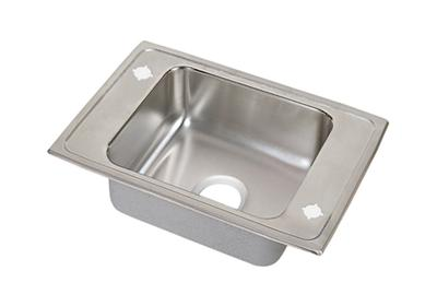 "Image for Elkay Lustertone Stainless Steel 31"" x 19-1/2"" x 7-5/8"", Single Bowl Top Mount Classroom Sink from ELKAY"