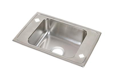 "Image for Elkay Lustertone Classic Stainless Steel 31"" x 19-1/2"" x 7-5/8"", Single Bowl Top Mount Classroom Sink from ELKAY"