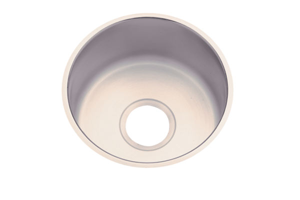 "Dayton Stainless Steel 14-1/2"" x 14-1/2"" x 6"", Single Bowl Undermount Bar Sink"