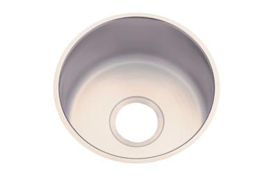 "Image for Dayton Stainless Steel 14-1/2"" x 14-1/2"" x 6"", Single Bowl Undermount Bar Sink from ELKAY"