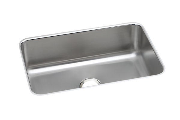 "Dayton Stainless Steel 26-1/2"" x 18-1/2"" x 8"", Single Bowl Undermount Sink"