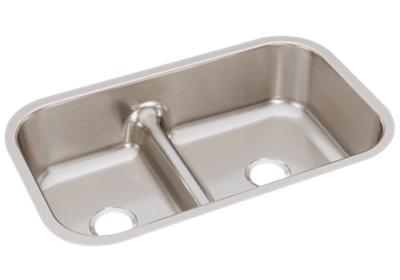 "Image for Elkay Lustertone Classic Stainless Steel, 34-5/8"" x 21-1/8"" x 8-3/4"", 40/60 Double Bowl Undermount Sink w/Aqua Divide from ELKAY"