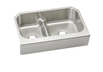 "Image for Elkay Lustertone Stainless Steel 34-5/8"" x 23-1/16"" x 8-3/4"", 40/60 Double Bowl Farmhouse Sink with Aqua Divide from ELKAY"