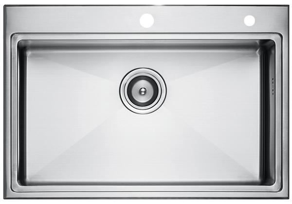 Image for Stainless Steel 701 x 483 x 216 Single Bowl Top Mount Kitchen Sink from Elkay Asia Pacific