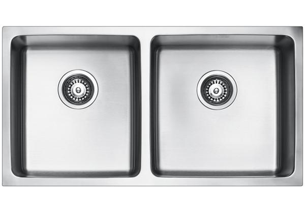Image for Stainless Steel 841 x 450 x 216 Double Bowl Undermount Kitchen Sink from Elkay Asia Pacific