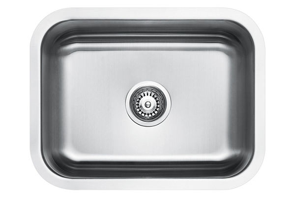 Stainless Steel 597 x 462 x 211 Single Bowl Undermount Kitchen Sink