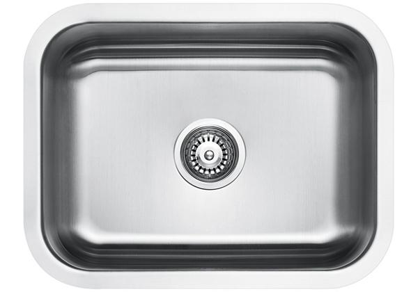 Image for Stainless Steel 597 x 462 x 211 Single Bowl Undermount Kitchen Sink from Elkay Middle East