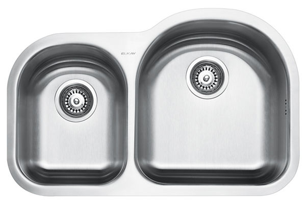 Stainless Steel 795 x 508 x 211 Double Bowl Undermount Kitchen Sink