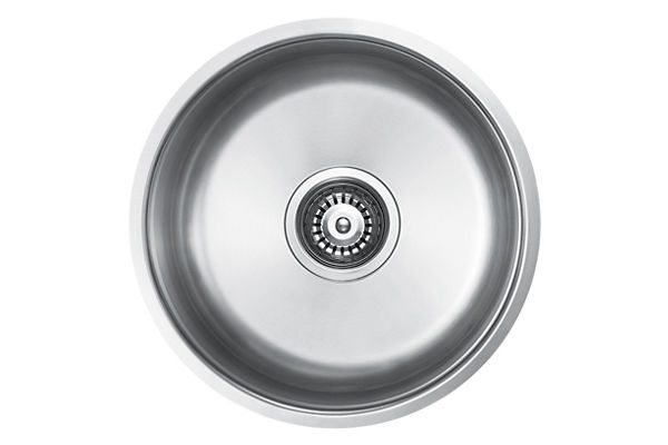 Stainless Steel 404 x 404 x 185 Single Bowl Undermount Kitchen Sink