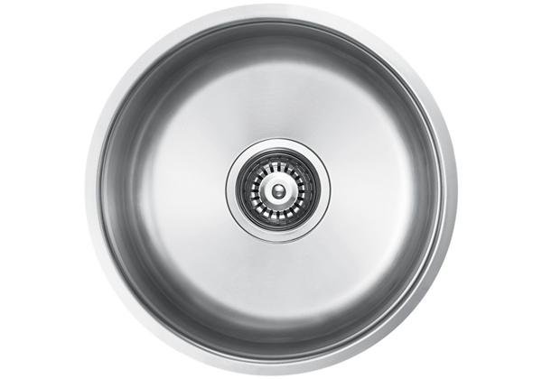 Image for Stainless Steel 404 x 404 x 185 Single Bowl Undermount Kitchen Sink from Elkay Middle East