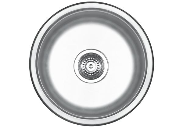 Image for Stainless Steel 419 x 419 x 185 Single Bowl Undermount Kitchen Sink from Elkay Europe and Africa