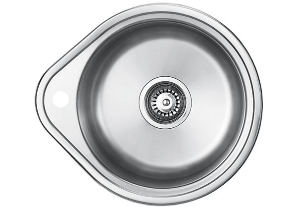 Image for Stainless Steel 500 x 442 x 191 Single Bowl Top Mount Kitchen Sink from Elkay Middle East