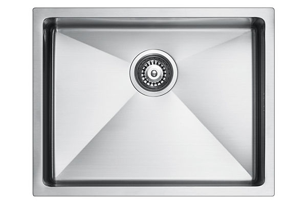 Stainless Steel 569 x 450 x 226 Single Bowl Undermount Kitchen Sink