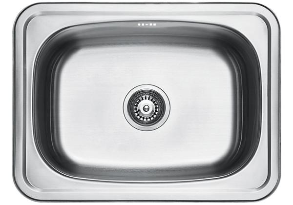 Image for Stainless Steel 640 x 480 x 249 Single Bowl Top Mount Kitchen Sink from Elkay Middle East