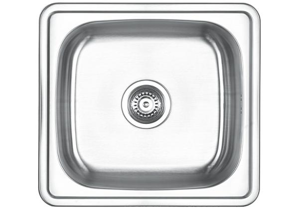 Image for Stainless Steel 500 x 460 x 201 Single Bowl Top Mount Kitchen Sink from Elkay Europe and Africa