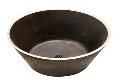 "Image for Elkay Asana Cast Brass 18-15/16"" x 18-15/16"" x 6"", Single Bowl Vessel Bathroom Sink from ELKAY"