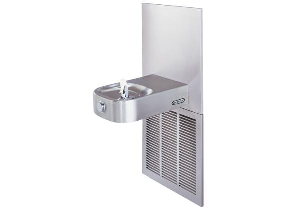 Image for Elkay Slimline Soft Sides Fountain ADA Filtered 10 GPH, Stainless 240V from Elkay Middle East