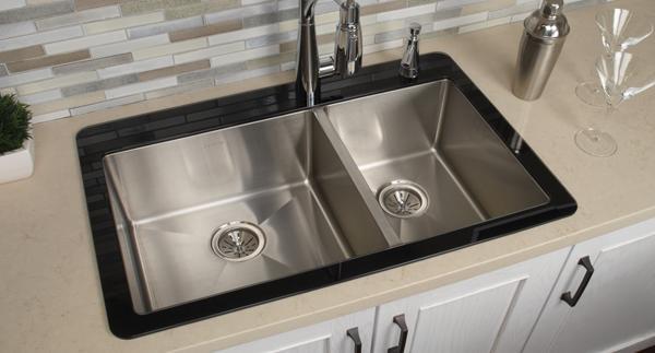 Crosstown Glass Top Sinks