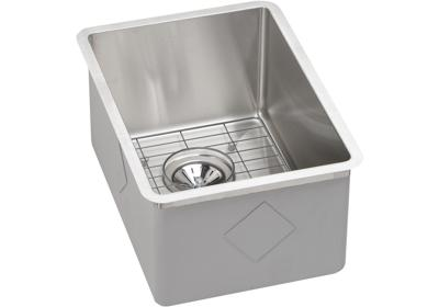 "Image for Elkay Crosstown Stainless Steel 13-1/2"" x 18-1/2"" x 9"", Single Bowl Undermount Bar Sink Kit from ELKAY"