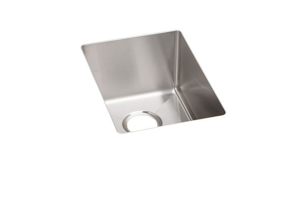 "Elkay Crosstown Stainless Steel 13-1/2"" x 18-1/2"" x 9"", Single Bowl Undermount Bar Sink"
