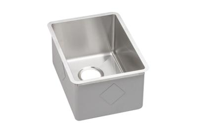 "Image for Elkay Crosstown Stainless Steel 13-1/2"" x 18-1/2"" x 9"", Single Bowl Undermount Bar Sink from ELKAY"