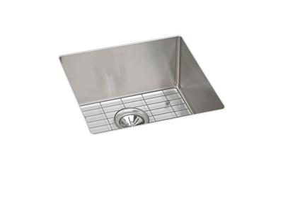 Image for Crosstown™ Stainless Steel Single Bowl Undermount Sink Kit from elkay-consumer