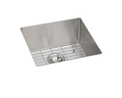 Image for Crosstown Stainless Steel Single Bowl Undermount Sink Kit from elkay-consumer