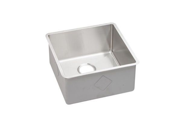 "Elkay Crosstown Stainless Steel 18-1/2"" x 18-1/2"" x 9"", Single Bowl Undermount Sink"
